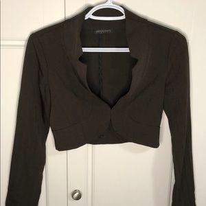 Seduction fashion crop top long sleeve